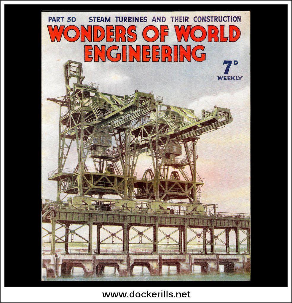 Wonders Of World Engineering Magazine No 50 1938 Cover Plant