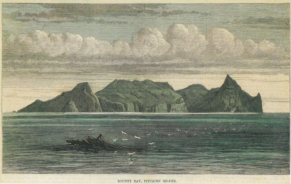 January Bounty Day On Pitcairn Island Wherein The Descendants - Pitcairn island one beautiful places earth
