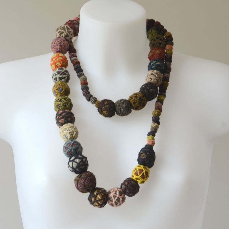 Long necklace/sautoir - Sophie Digard creations