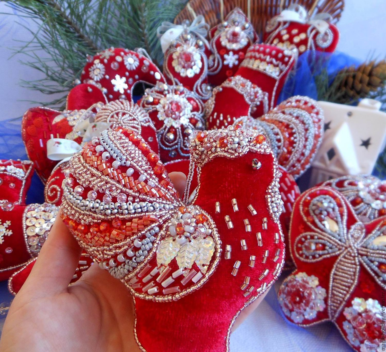Elkfelt Ornamentschristmas