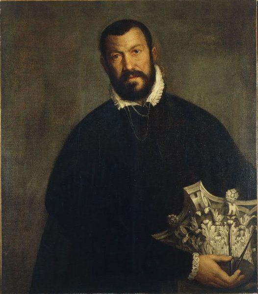 Portrait of Vincenzo Scamozzi by Veronese