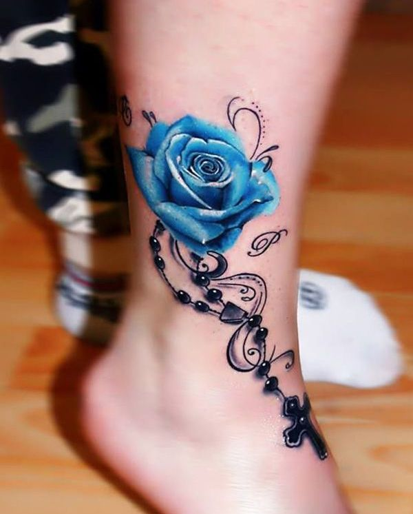 Pickyourpic Net Ankle Tattoos For Women Rose Tattoos For Women Tattoos