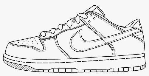 Outline Of A Nike Shoe | Capital Football
