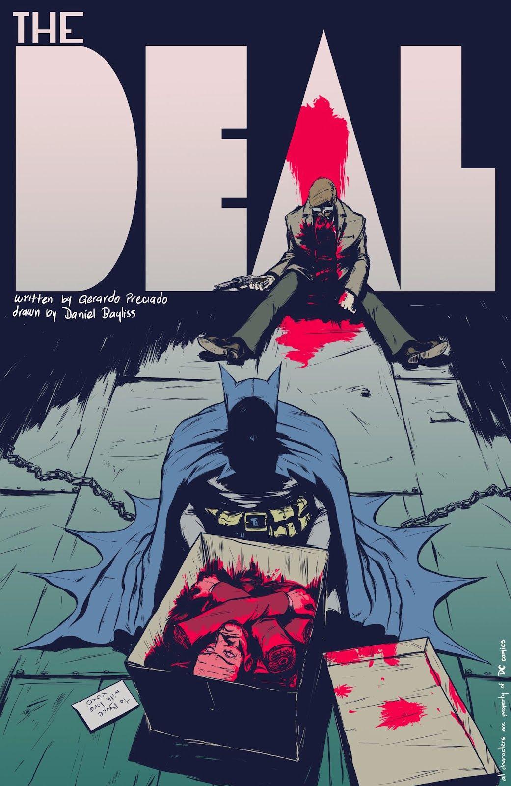 #Batman: The Deal | El espectacular final de Batman y el #Guasón