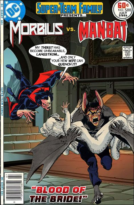 Super-Team Family: The Lost Issues!: Morbius Vs. Man-Bat