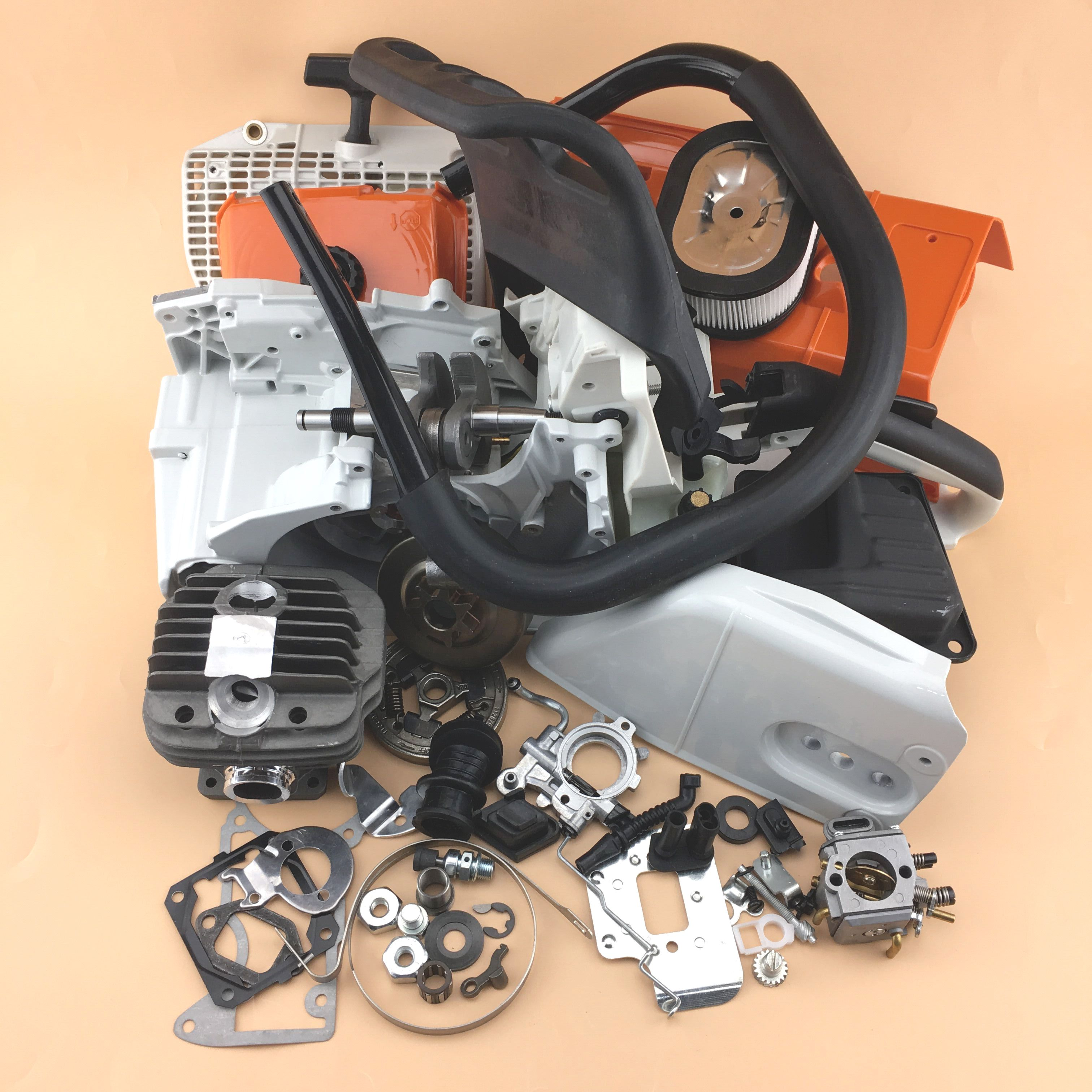 Complete Aftermarket Repair Parts For Stihl Ms440 044 Chainsaw