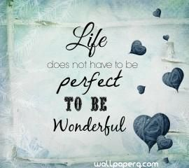 Download Wonderful Life Quote Hd Wallpaper For Laptop