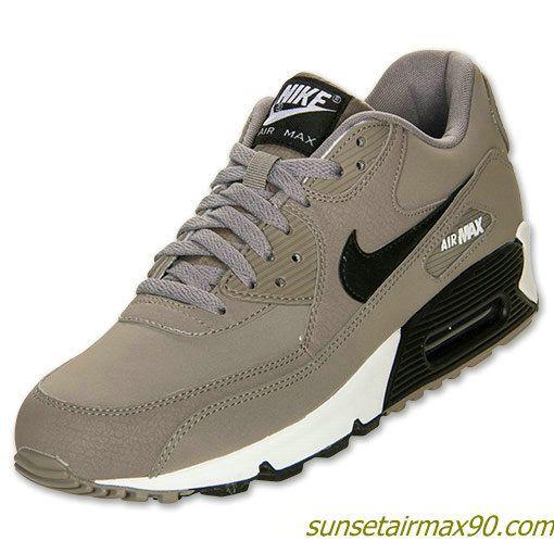 Nike Air Max 90 Essential Mens Sport Grey Black 537384 001