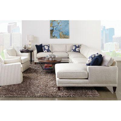Rowe Furniture Townsend Sectional Reviews Wayfair