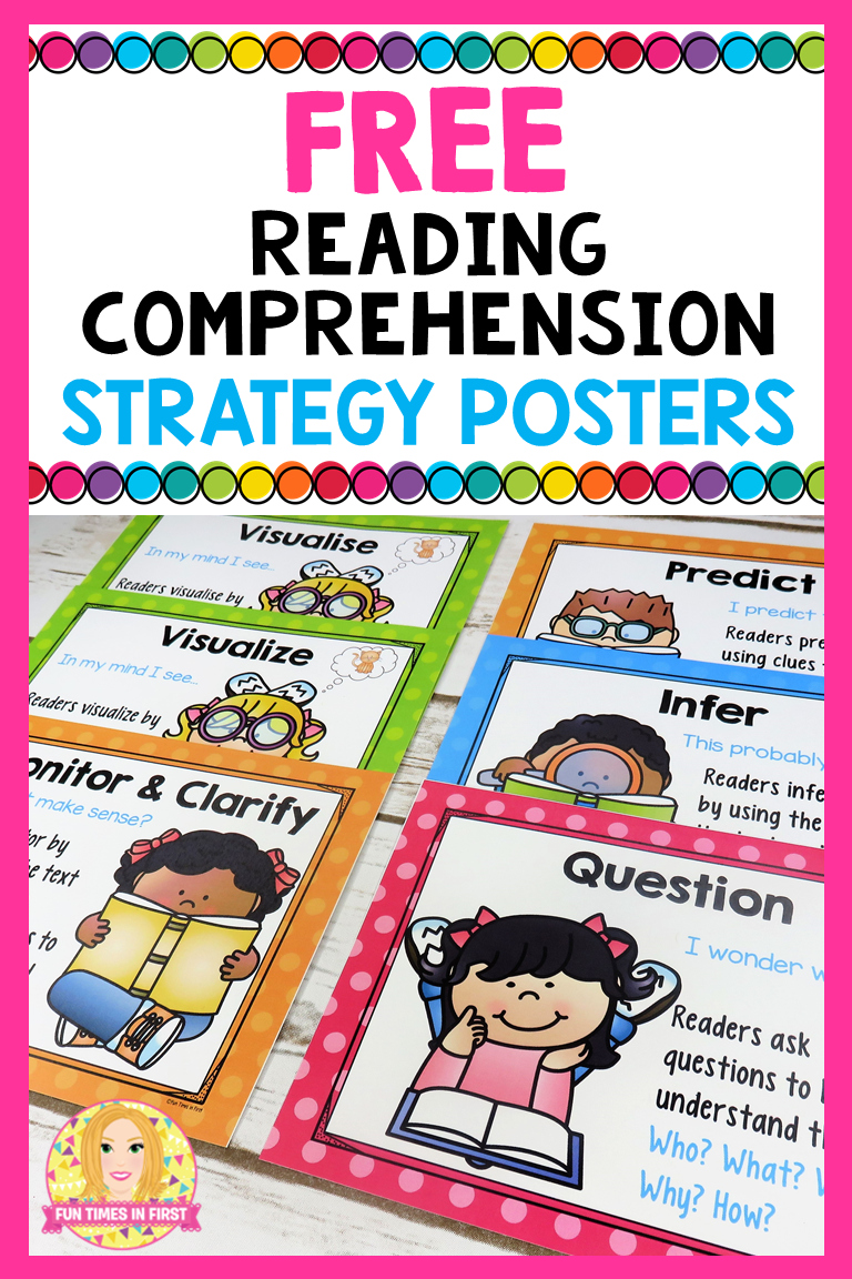 - Reading Comprehension Strategies Posters FREE (With Images