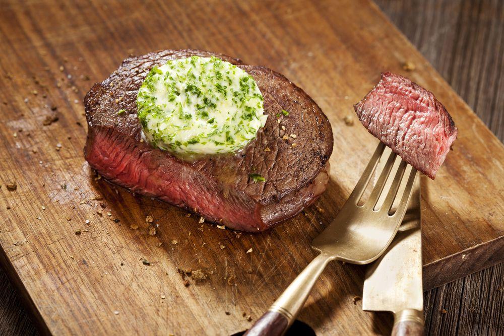 Air Fryer Keto Garlic Butter Steak Recipe With Images Grilled Steak Recipes Grilled Meat Recipes Recipes