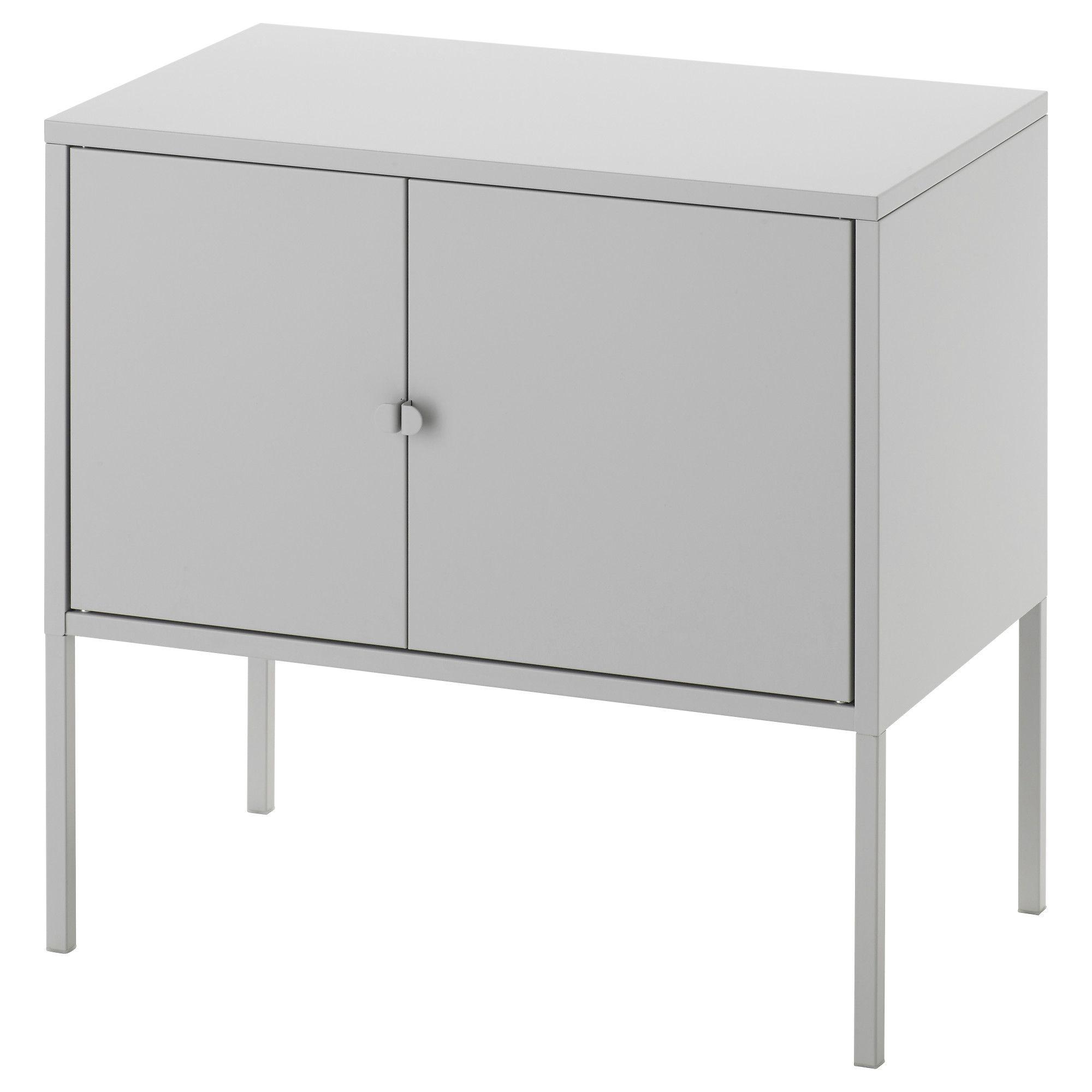 Lixhult Schrank Metall Grau Ikea Osterreich Graue Schranke