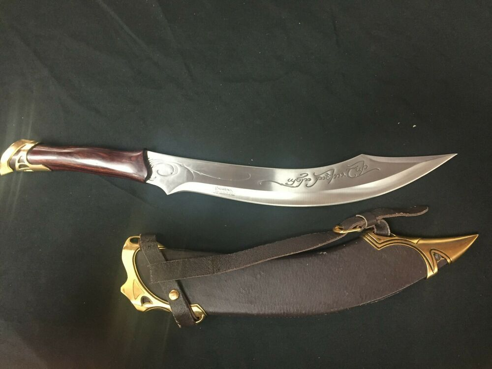 Ebay Sponsored Lord Of The Rings Elven Knife Of Strider Uc1371