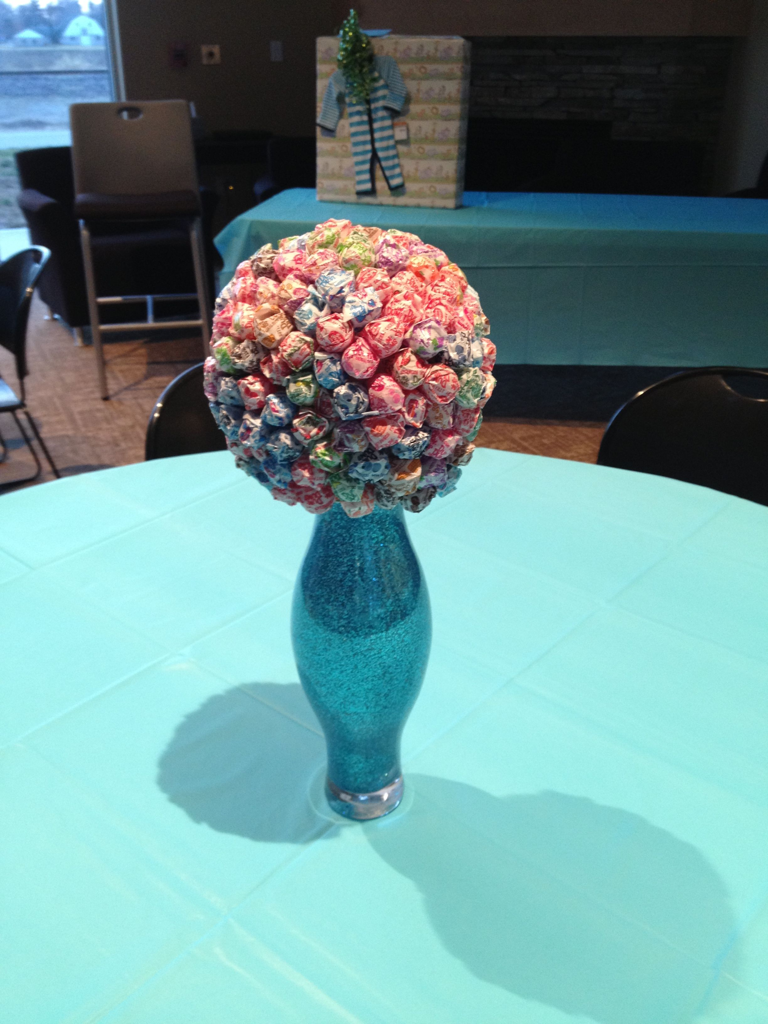 Centerpieces For A Boys Baby Shower ) Ready To Pop