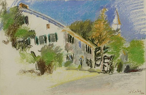 Whetstone Inn. Pastel on paper. 8 x 10 in.