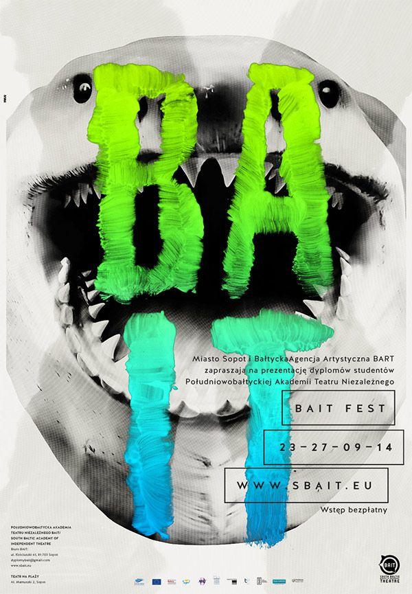 Bait Fest Poster By Krzysztof Iwanski Posters Plakat