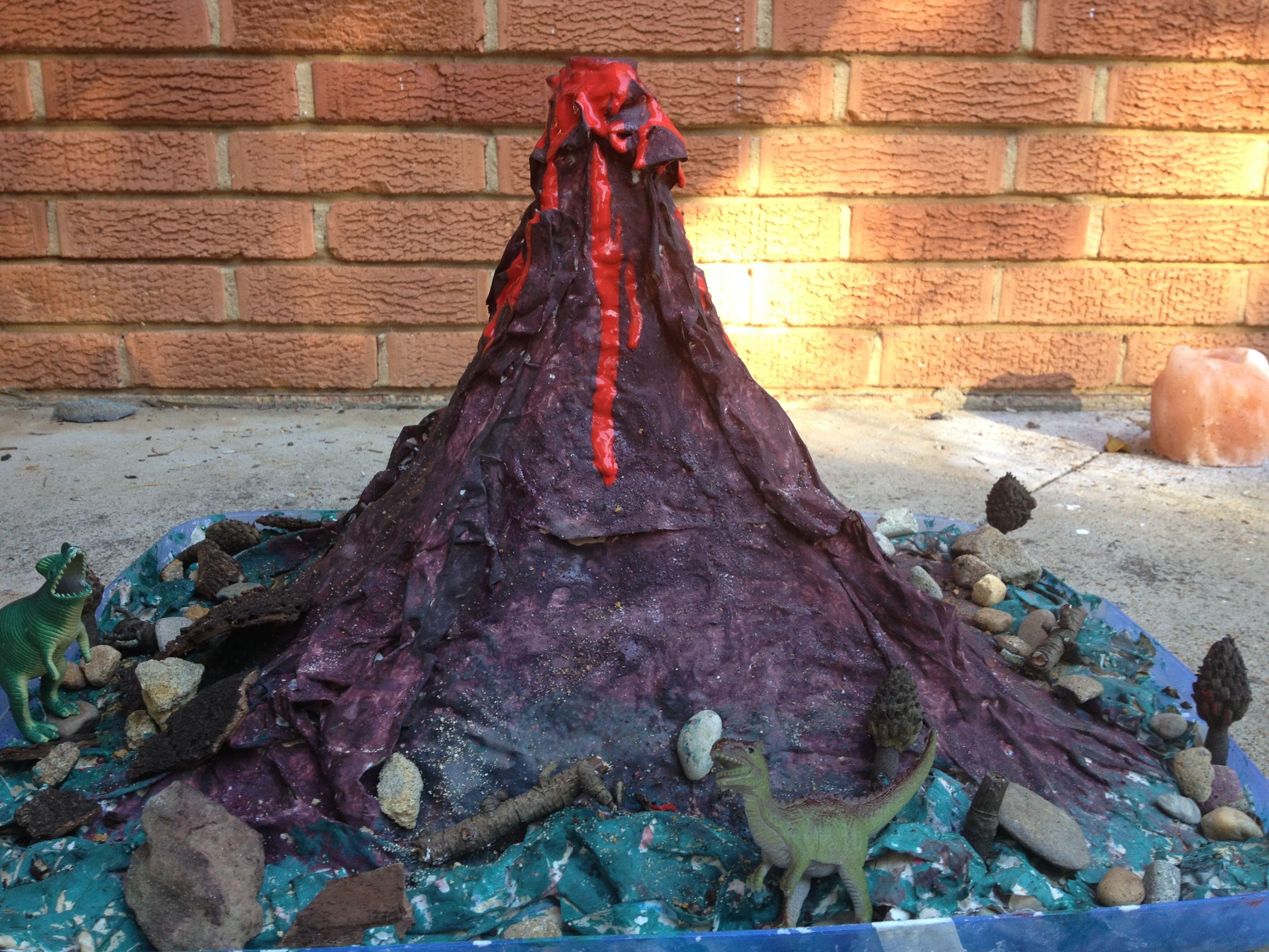 Home Made Volcano