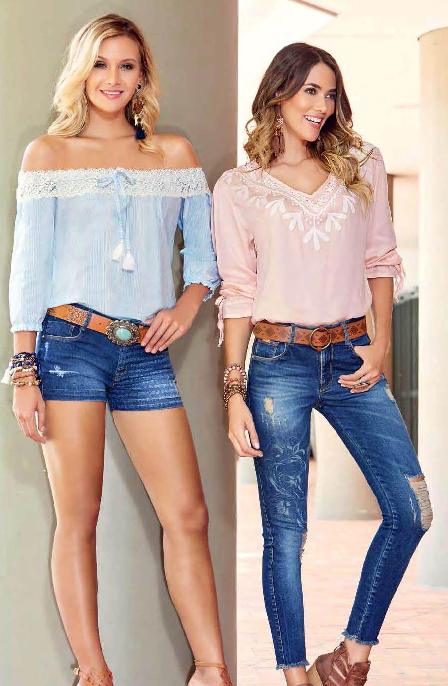 9b9e23098616 Ventas por catalogo de la mejor ropa colombiana para dama y hombre ...
