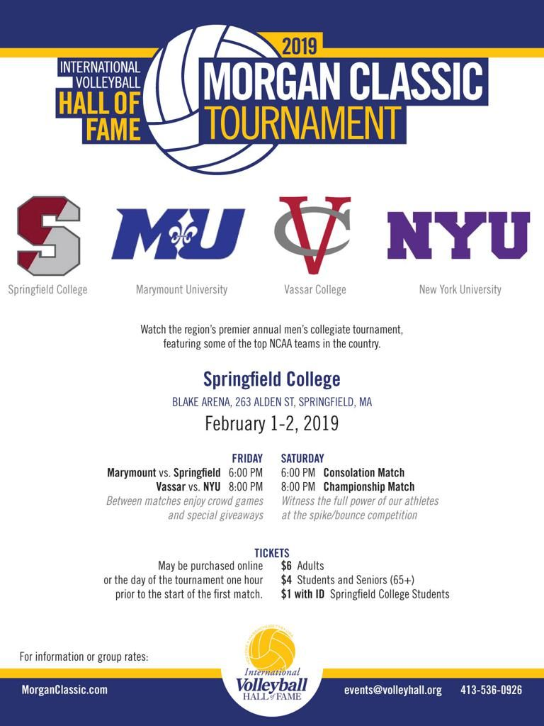 Volleyball Classic Tournament Logo Google Search Springfield College Tournaments Volleyball