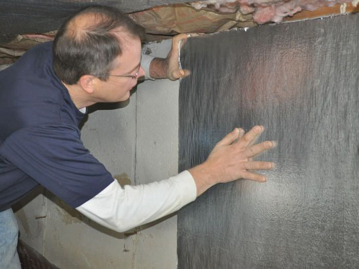 Crawl Space Insulation In Delaware Maryland Crawl Space Wall