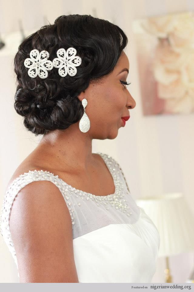 Nigerian Wedding Bridal Hair Make Up By Kemi Kings I Love The