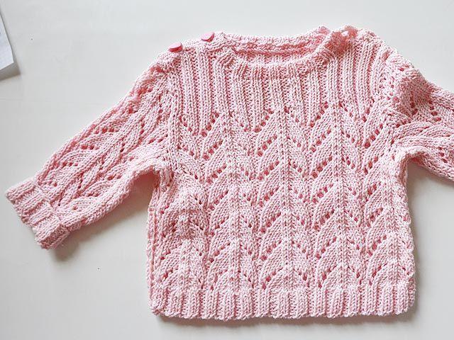 Anleitungen Für Babyjäckchen Babypullover In Arbeit детям
