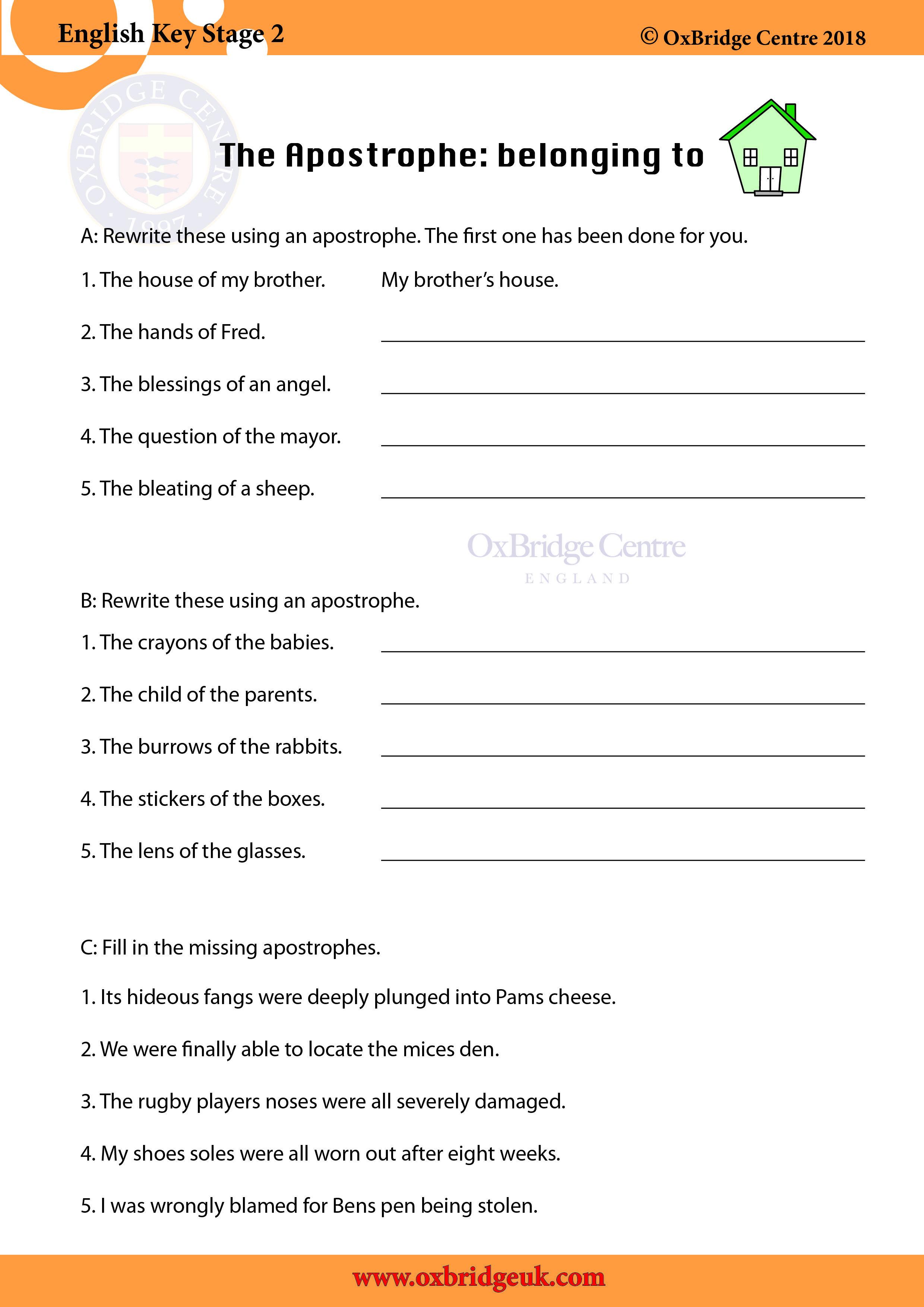 Ks2 11plus Homeschooling English