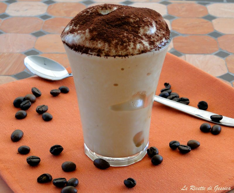 Crema Di Caffe Senza Latte Congelato E Panna Ricetta Bimby Dolci