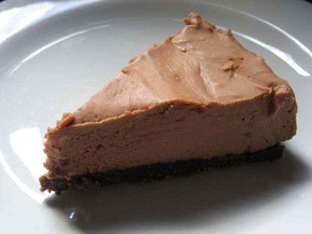 Toblerone Cheesecake from Food.com: This recipe came from a packet of cream cheese. With ground almonds in the base and 200g of Toblerone, this cheesecake is great! We like a thicker crust, so next time I make it I'll start with 1 1/2 cups of biscuit crumbs, and see how we go from there. Cooking time is refrigeration time.