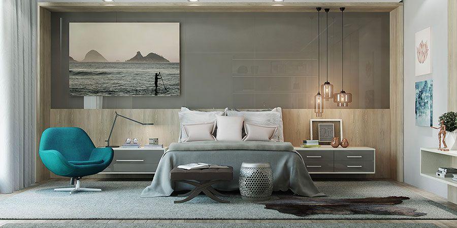 Lampada a sospensione per la camera da letto 05 | Bedrooms ...