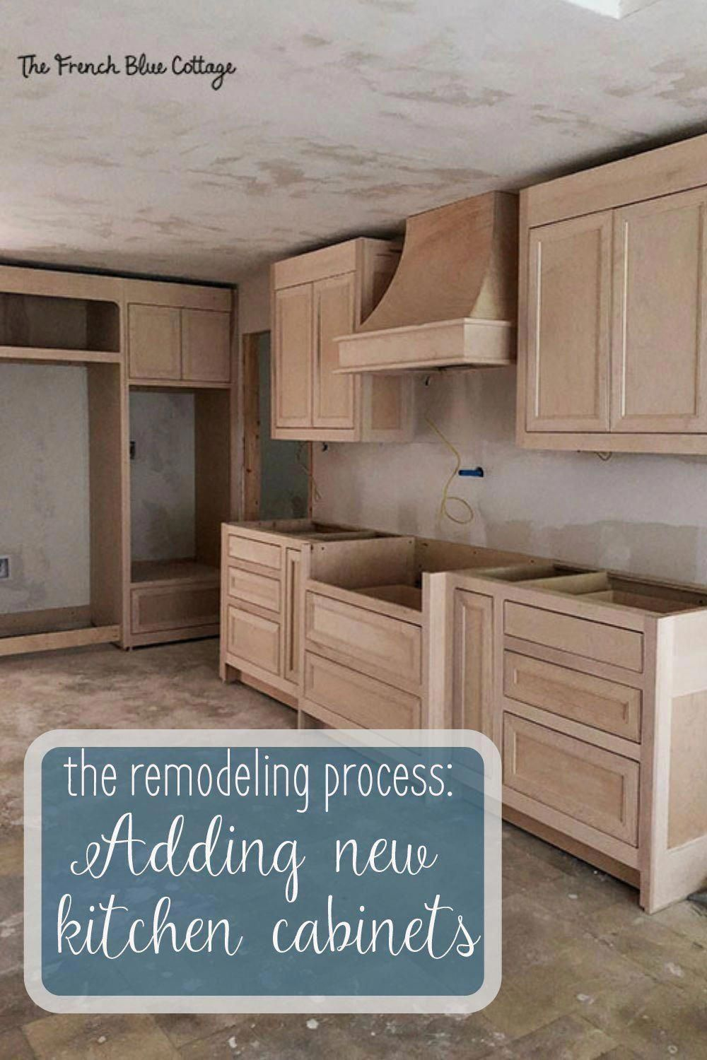 When You Are In The Process Of Remodeling A Kitchen Seeing The New Cabinets Come In Is The First French Country Kitchens New Kitchen Cabinets Kitchen Remodel
