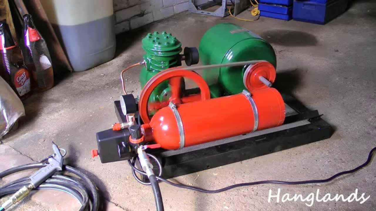 Homemade Compressor For Small Workshop Metal Bender Jewlery Making Silent Air Compressor
