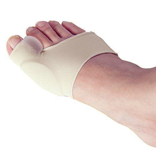 2 Elastic Foot Bunion Relief Big Toe Hallux Valgus Protector Corrector Care