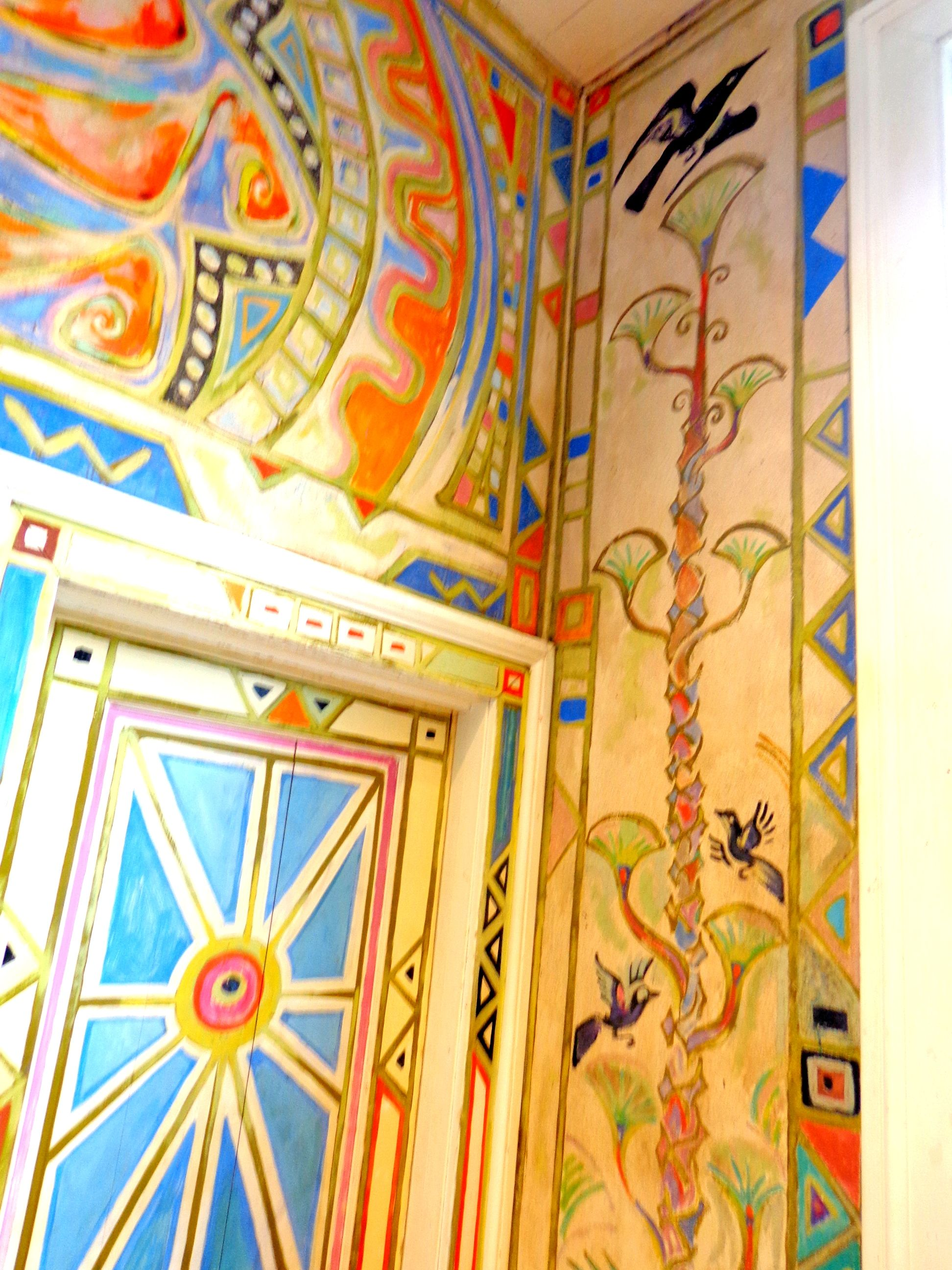 Door and other designs - wall murals by Walter Anderson - Community ...