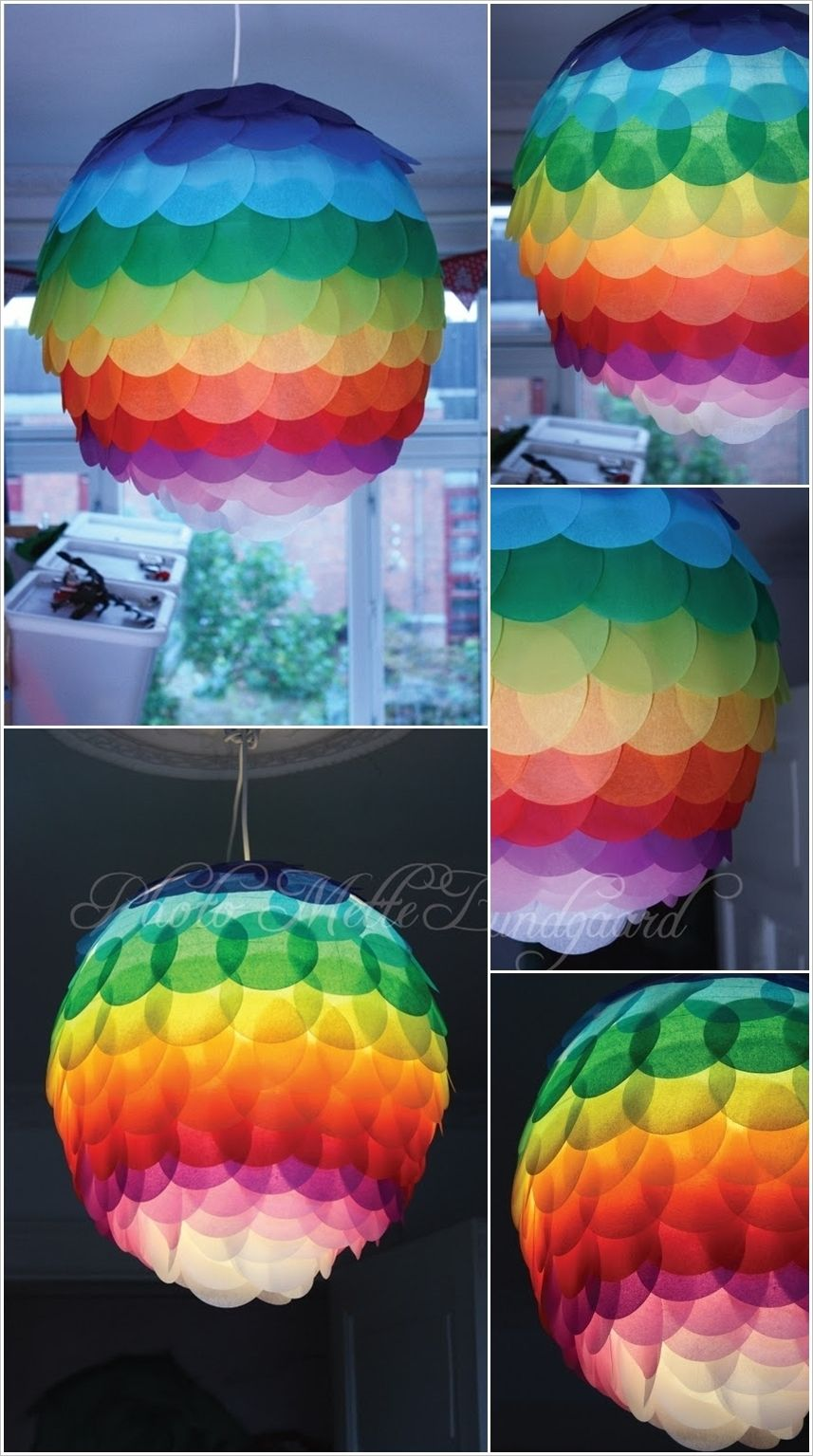 18 Amazing DIY Paper Lanterns and Lamps | Diy paper lanterns ... for Diy Paper Lamp Ideas  51ane