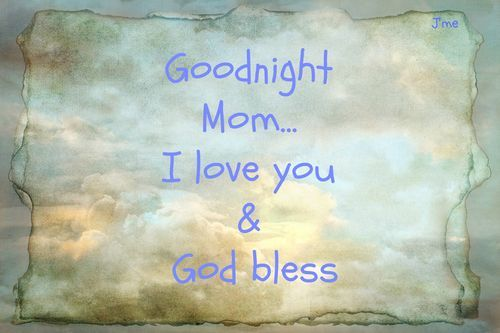Good Night Mom Goodnight Mom 2 Mj And K Mom Good Night My Mom