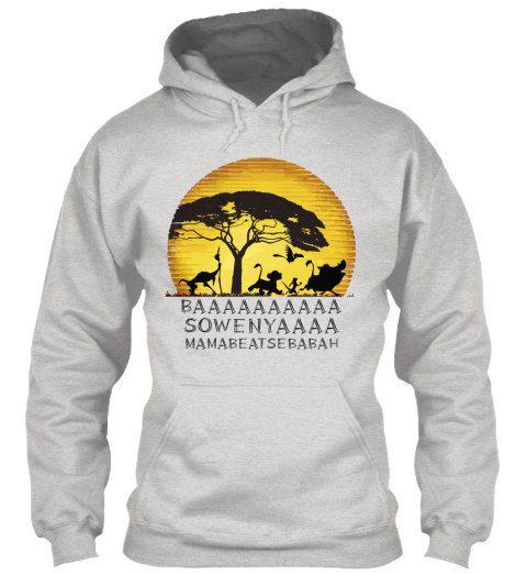 Lion King BAA funny shirts, Unisex Lion King Hoodies, Funny Hoodie ...