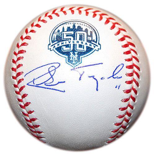 a53553ca New York Mets Ruben Tejada Autographed 50th Anniversary Baseball - MLB.com  Shop