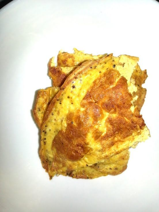 """Breakfast omelet (spicy version)! """"""""  @allthecooks #recipe"""