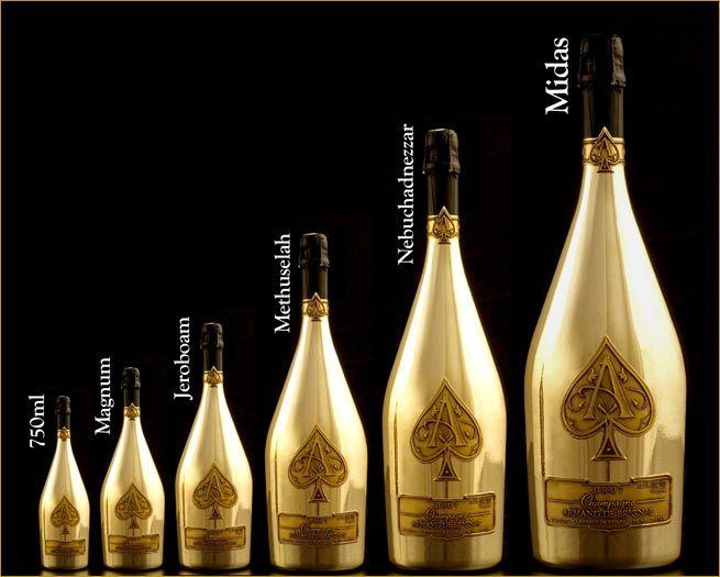 Armad De Brignac   Billionaire Boys Club   Spade champagne, Best