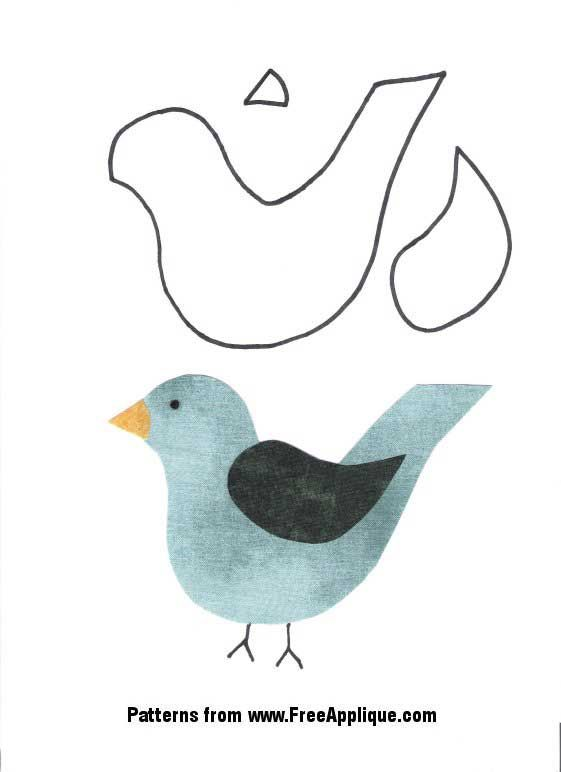 Pin de Wanda Mills en Appliqué   Pinterest   Pájaro, Lindo y Apliques