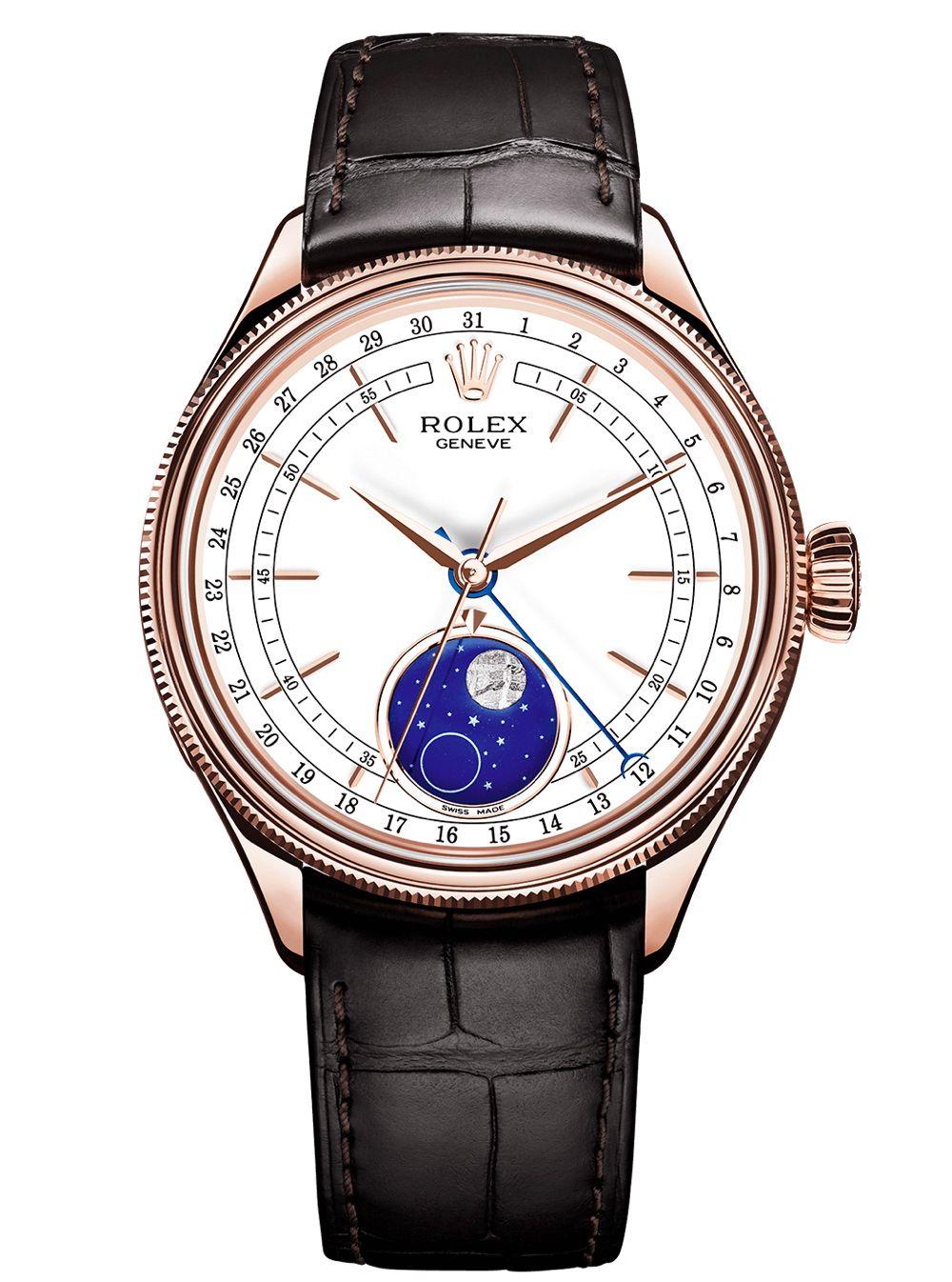 c30d7ff3bb8 2017 Rolex Moon Phase Cellini - Rolex Geneve dial - Perpetuelle ...