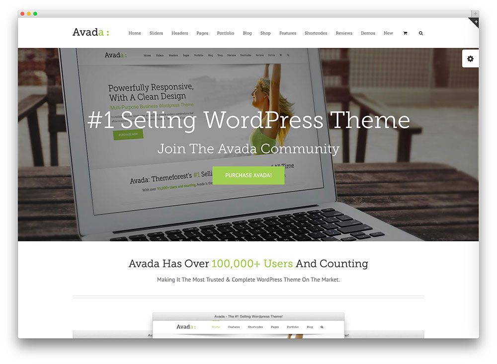 avada bestselling wordpress theme http://demo.theme-fusion.com   biz ...