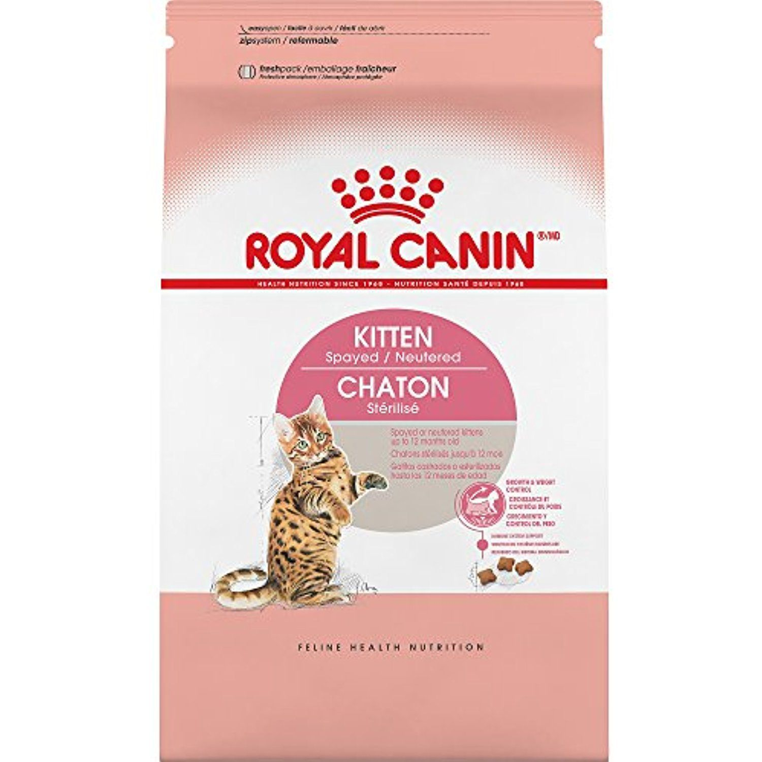 Royal Canin Feline Health Nutrition Kitten Spayed Neutered Dry Cat Food 2 5 Pound Be Sure To Check Out This Awesome Pro Feline Health Dry Cat Food Cat Food