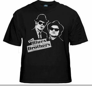The Blues Brothers Vintage T-Shirt :: Dan Aykroyd & John Belushi Blues Bros.