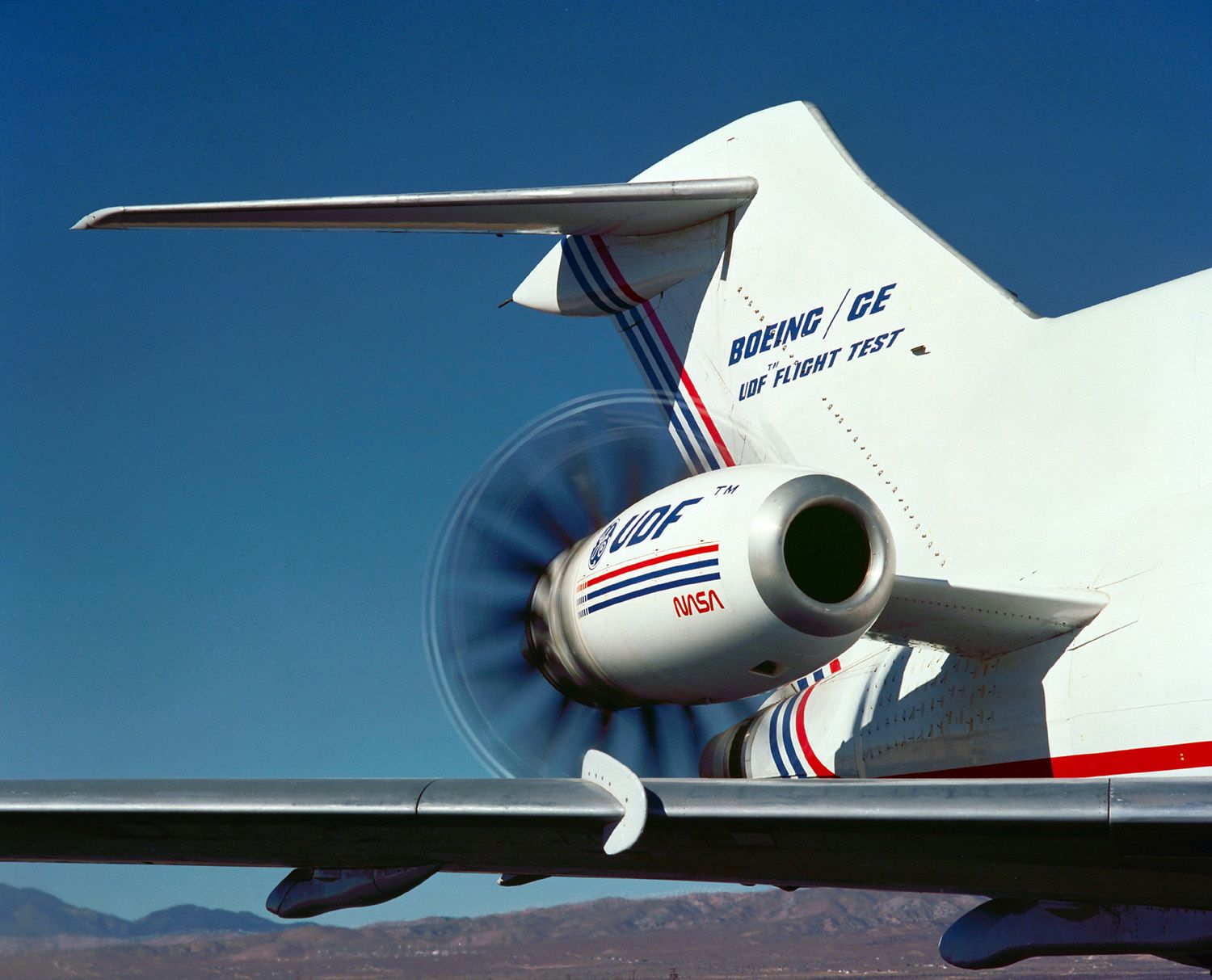 This is NOT an \u0027electric jet\u0027. It is the GE36 on a B-727 test bed ...