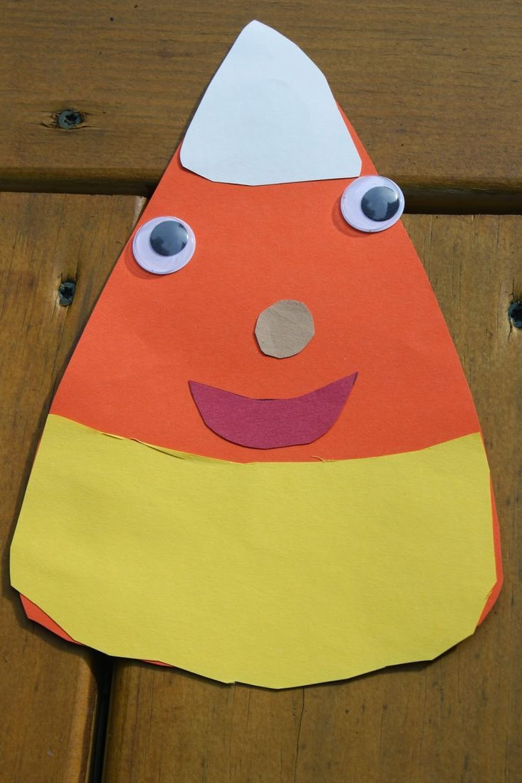 candy corn craft for preschoolers the chirping moms 30 halloween projects for kids - Halloween Crafts Construction Paper
