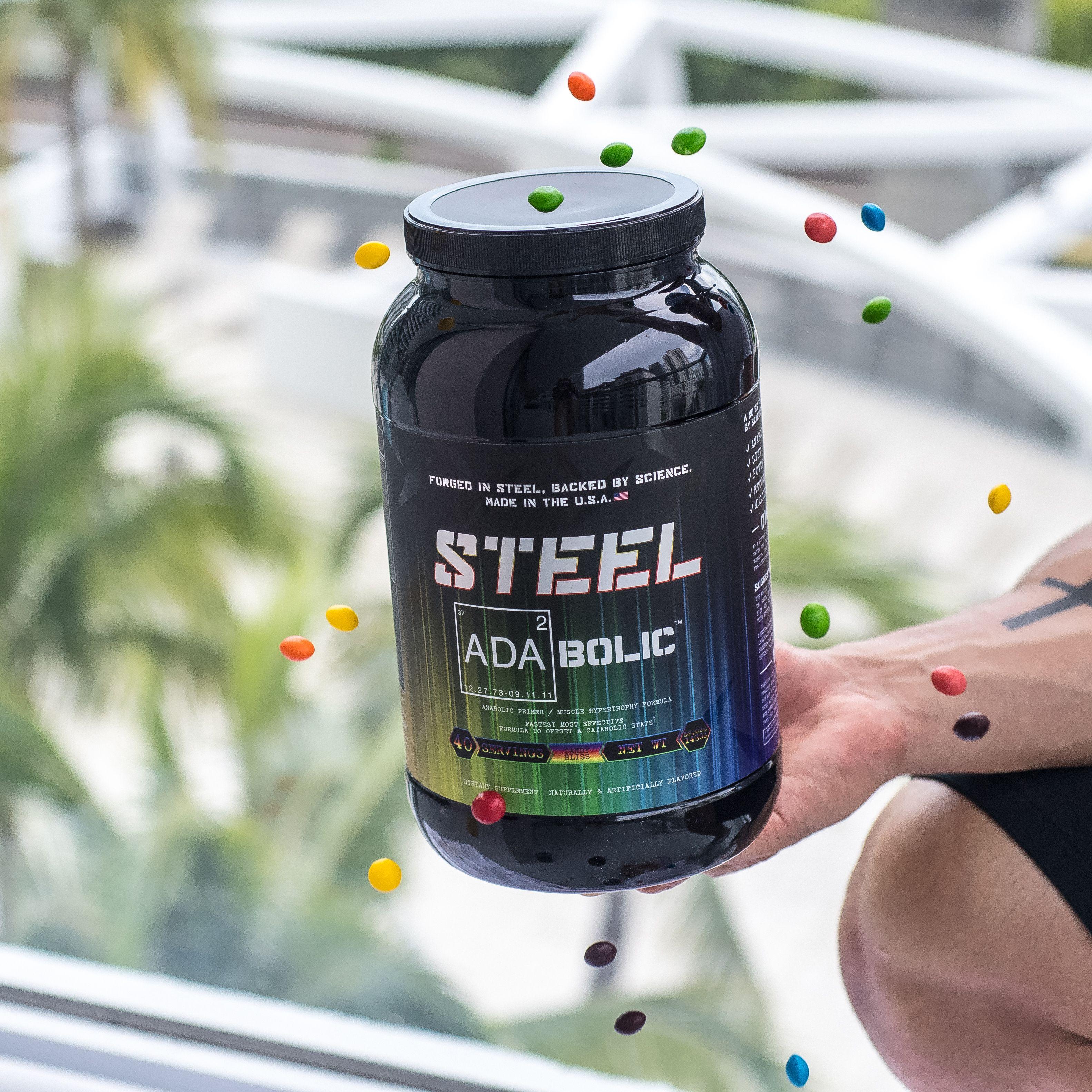 ADABOLIC STEEL Supplements Steel Supplements Workout