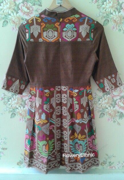 Ginger Dress-back-songket bali