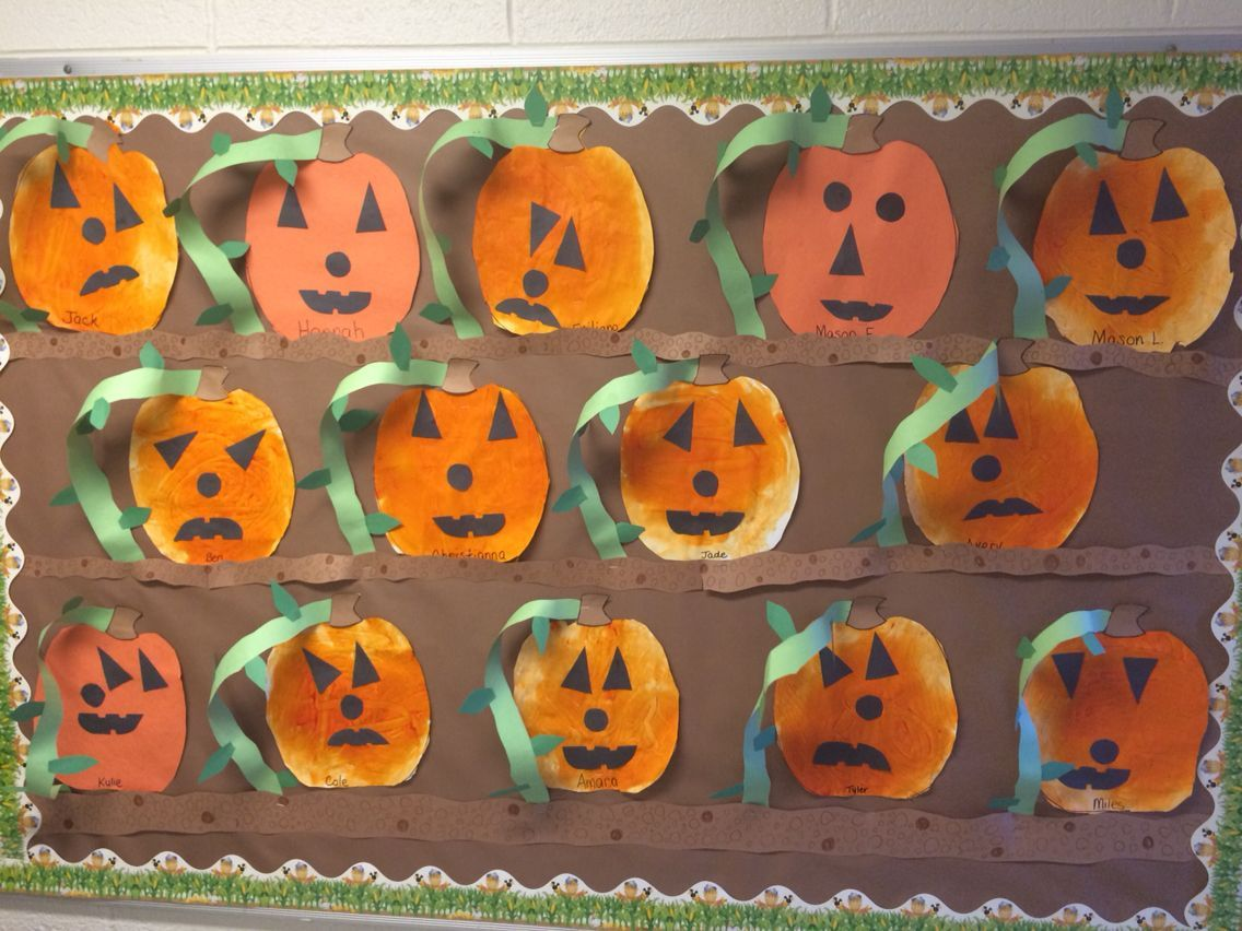 Our Classroom Pumpkin Patch on the Bulletin Board! #pumpkinpatchbulletinboard Our Classroom Pumpkin Patch on the Bulletin Board! #pumpkinpatchbulletinboard